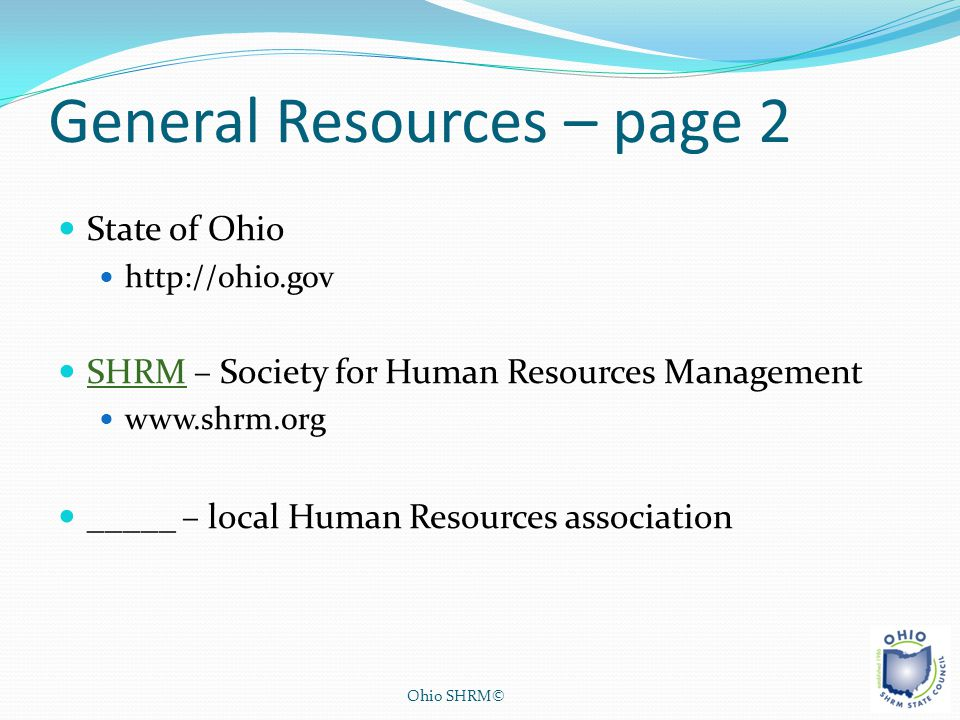 General Resources – page 2