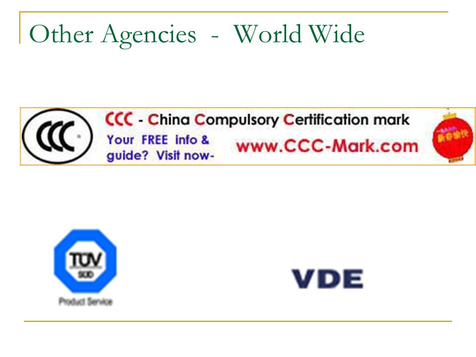 Other Agencies - World Wide