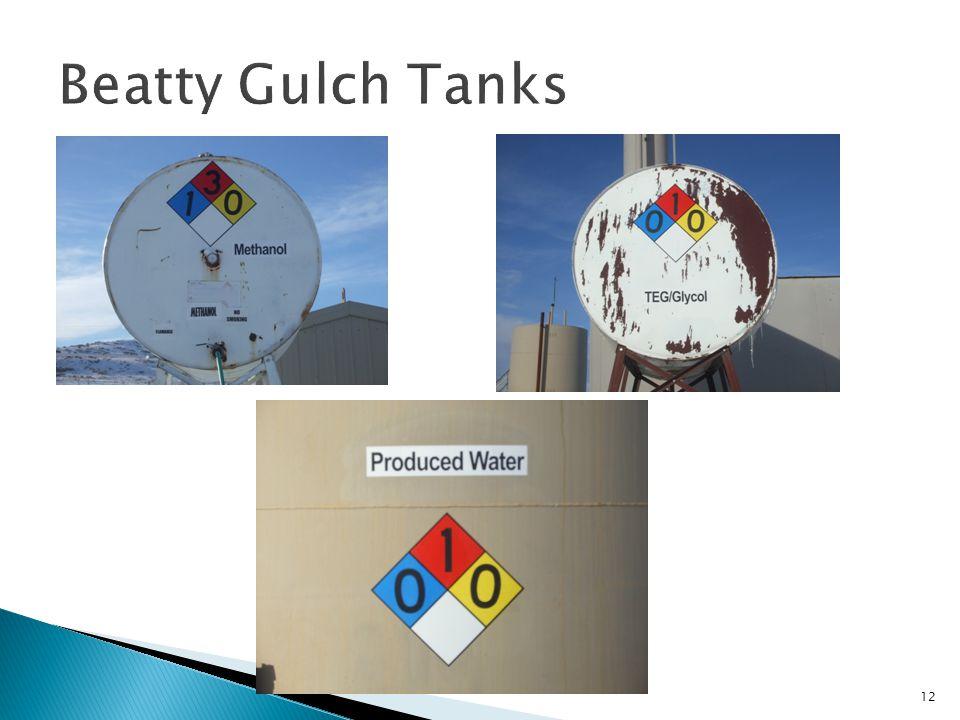 Beatty Gulch Tanks