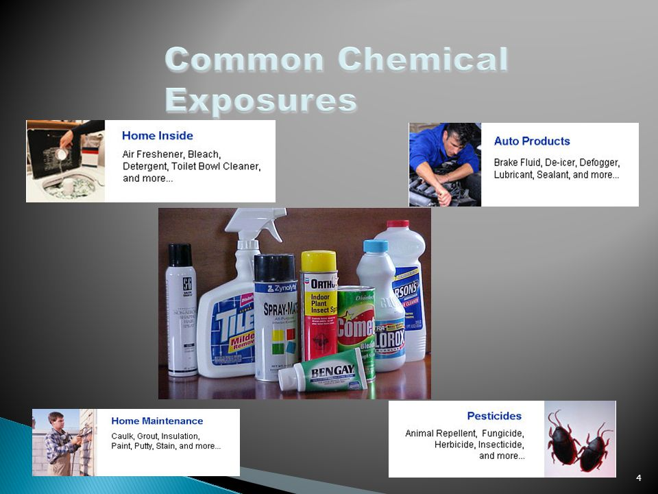 Common Chemical Exposures