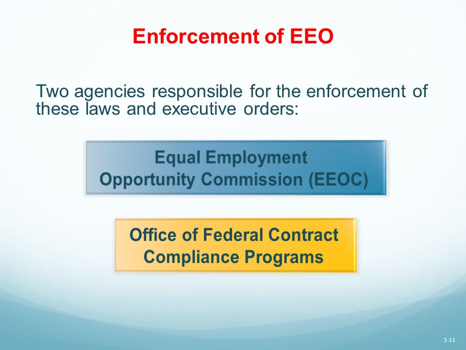 Opportunity Commission (EEOC) Office of Federal Contract