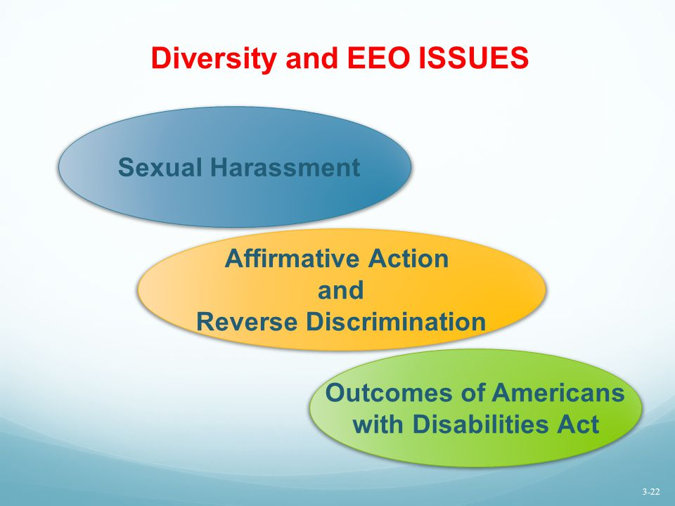 Diversity and EEO ISSUES