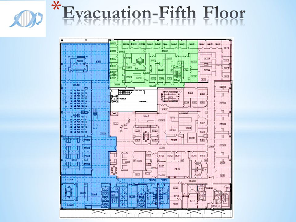 Evacuation-Fifth Floor