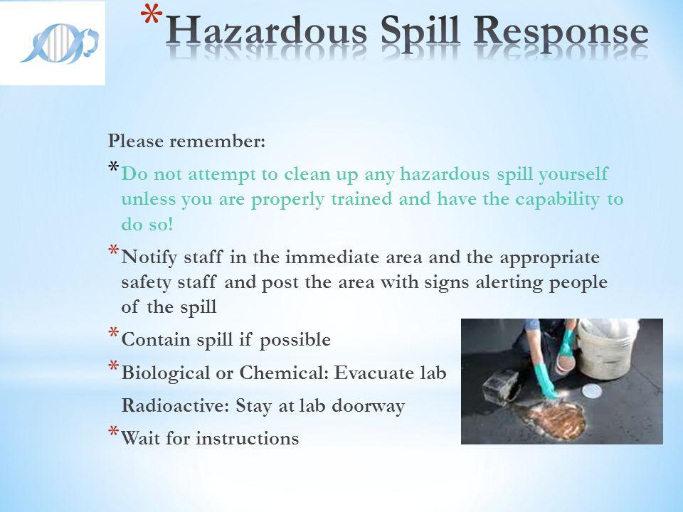 Hazardous Spill Response