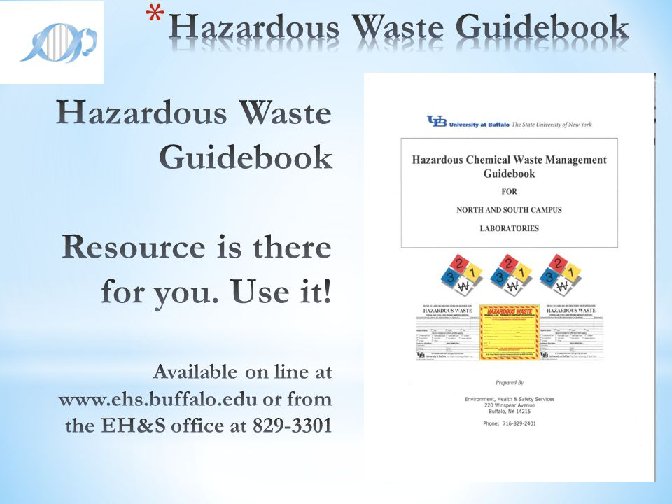 Hazardous Waste Guidebook