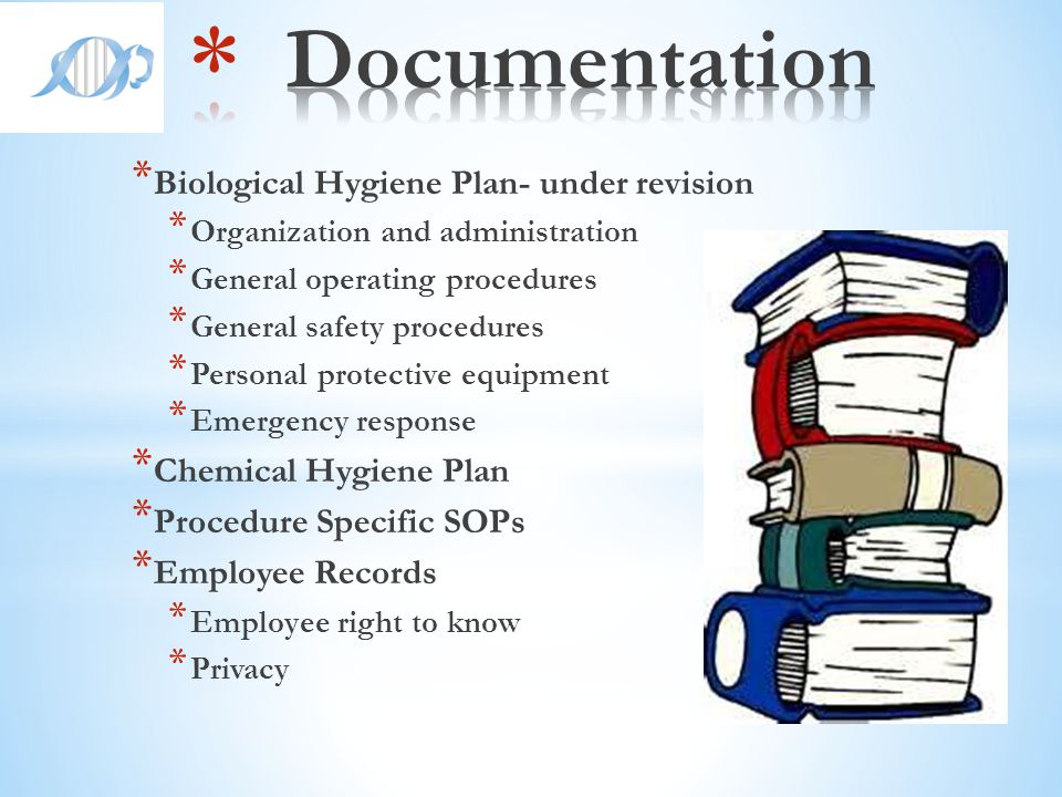 Documentation Biological Hygiene Plan- under revision