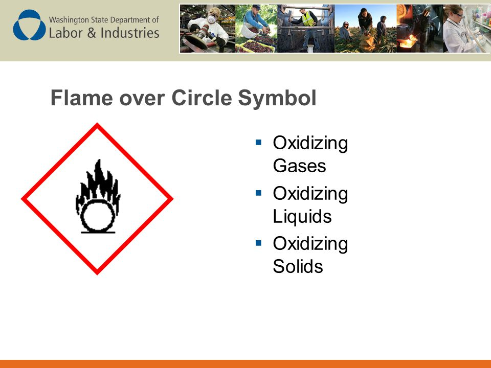 Flame over Circle Symbol