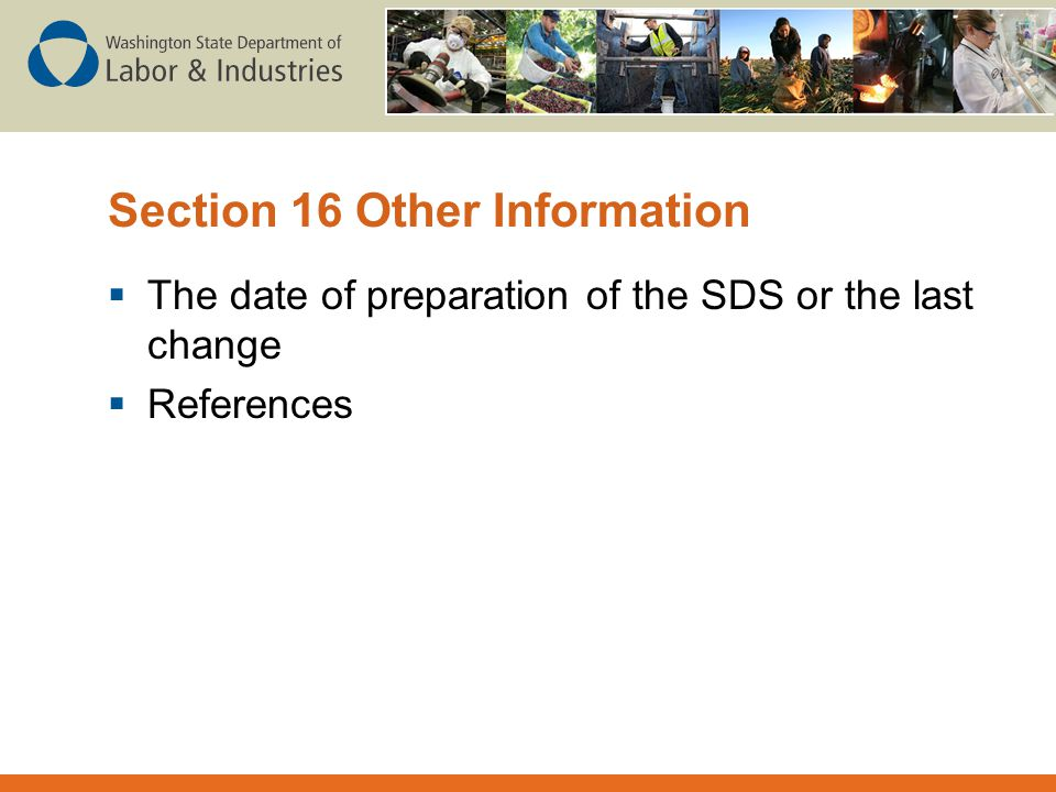 Section 16 Other Information