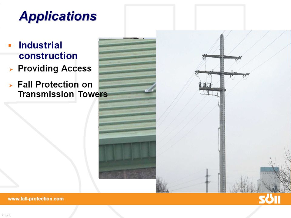 Applications Industrial construction Providing Access