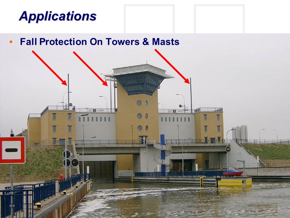 Applications Fall Protection On Towers & Masts