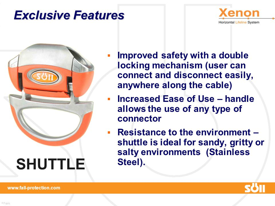 SHUTTLE Exclusive Features
