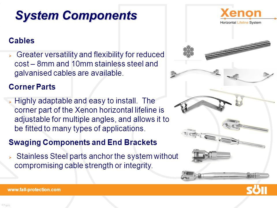 System Components Cables
