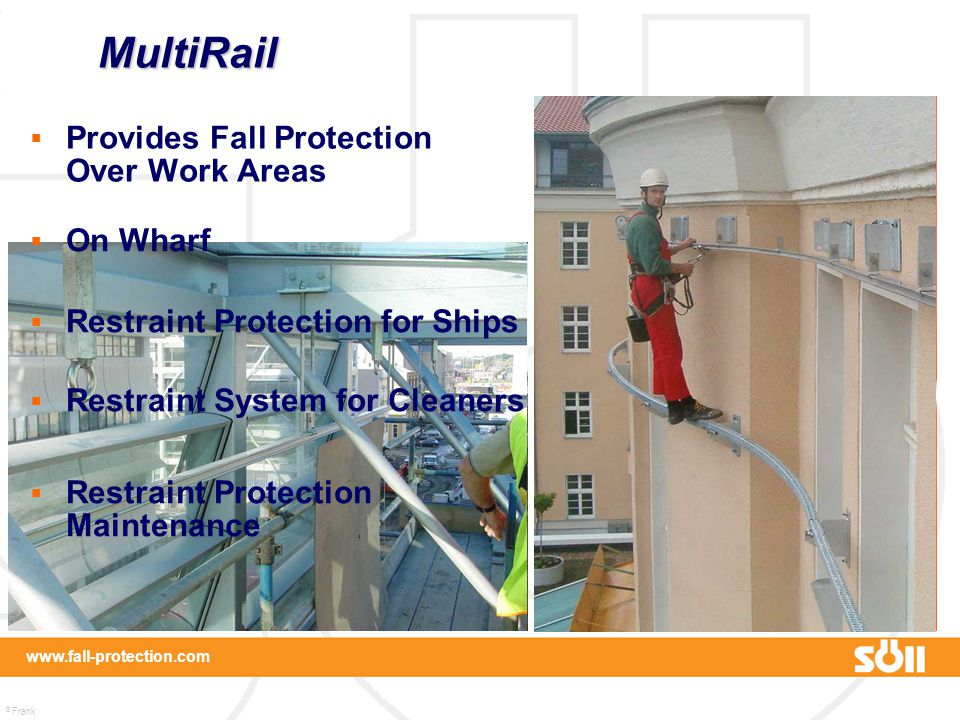 MultiRail Provides Fall Protection Over Work Areas On Wharf