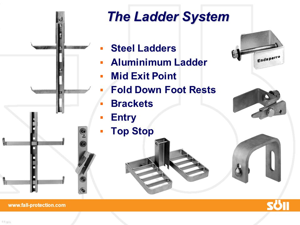 The Ladder System Steel Ladders Aluminimum Ladder Mid Exit Point