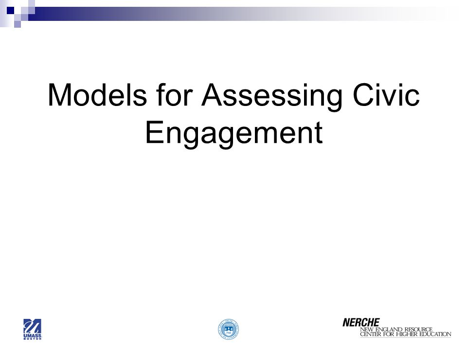 Models for Assessing Civic Engagement