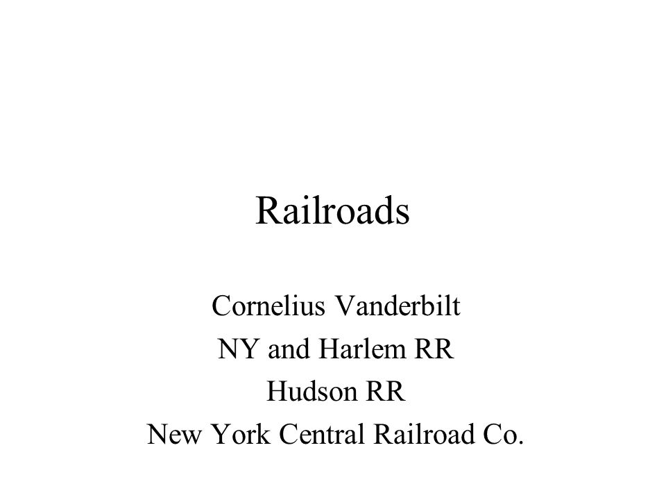 New York Central Railroad Co.