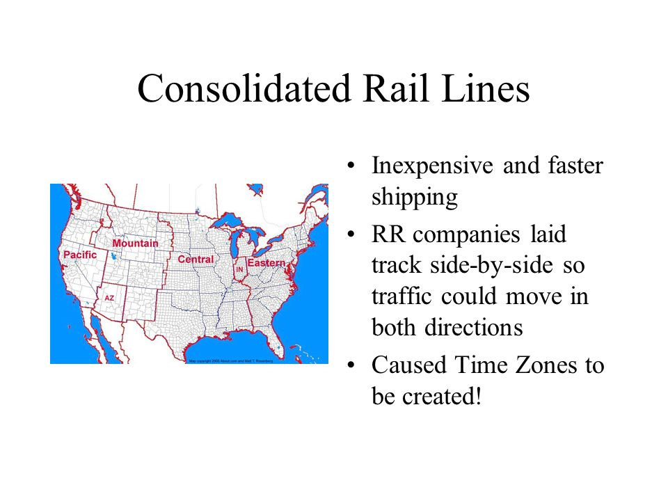 Consolidated Rail Lines