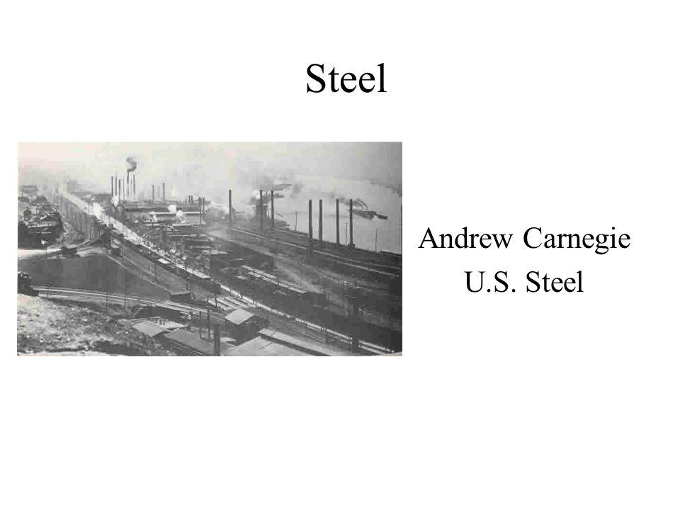 Andrew Carnegie U.S. Steel