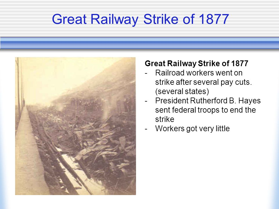 Great Railway Strike of 1877