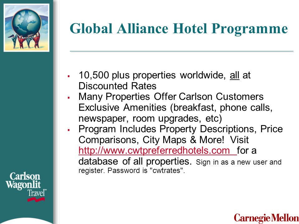 Global Alliance Hotel Programme