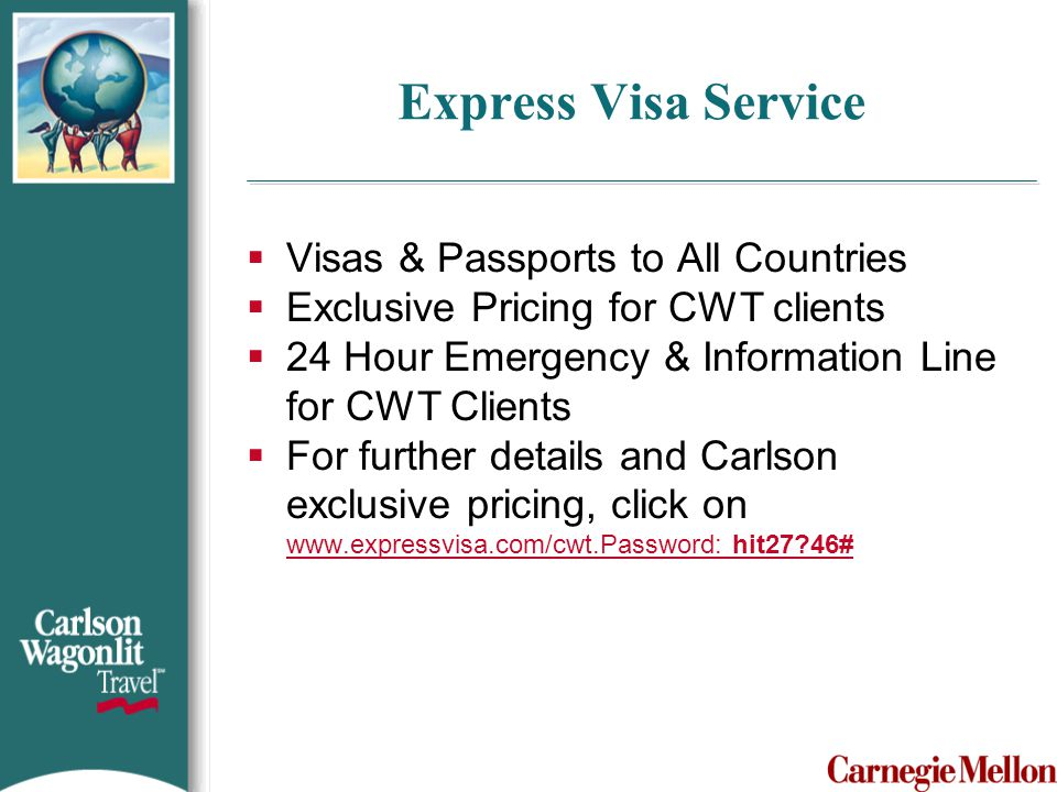 Express Visa Service Visas & Passports to All Countries