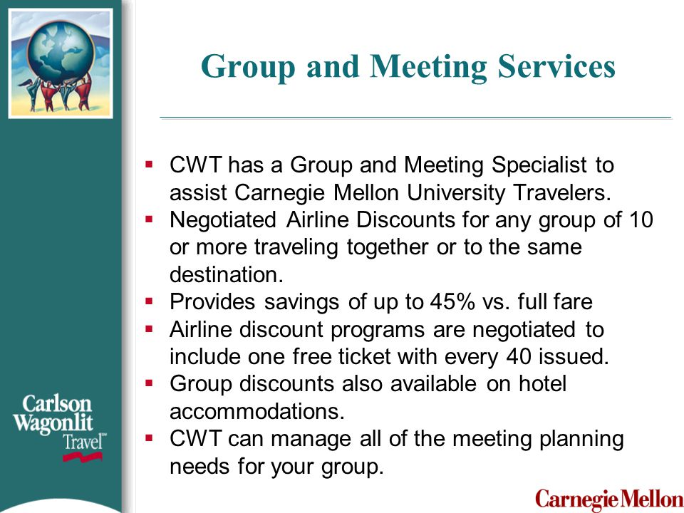 Group and Meeting Services