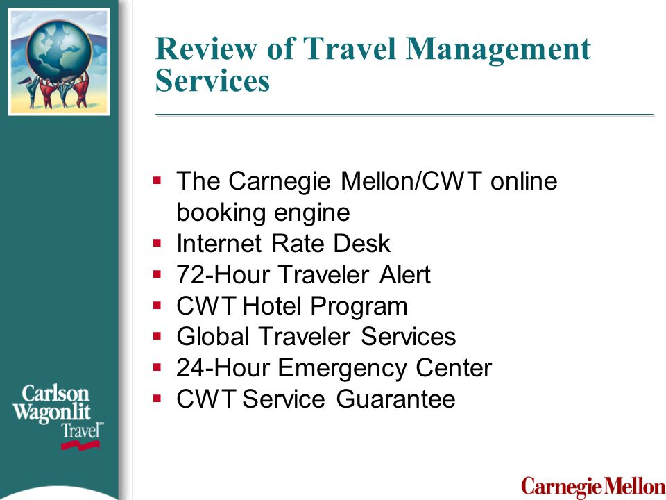 Review of Travel Management Services