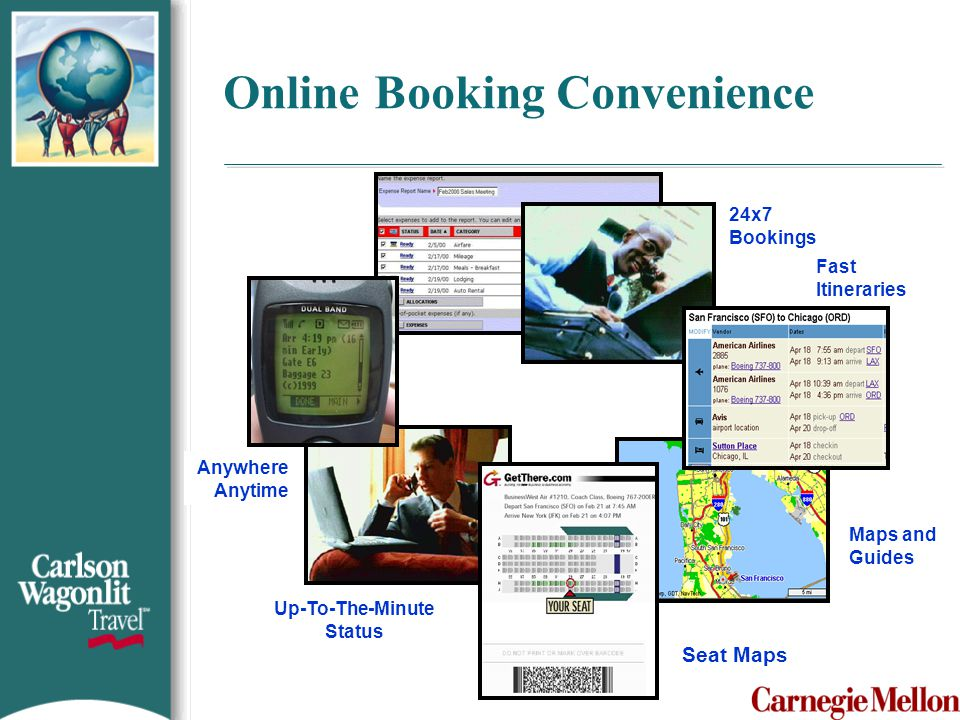 Online Booking Convenience