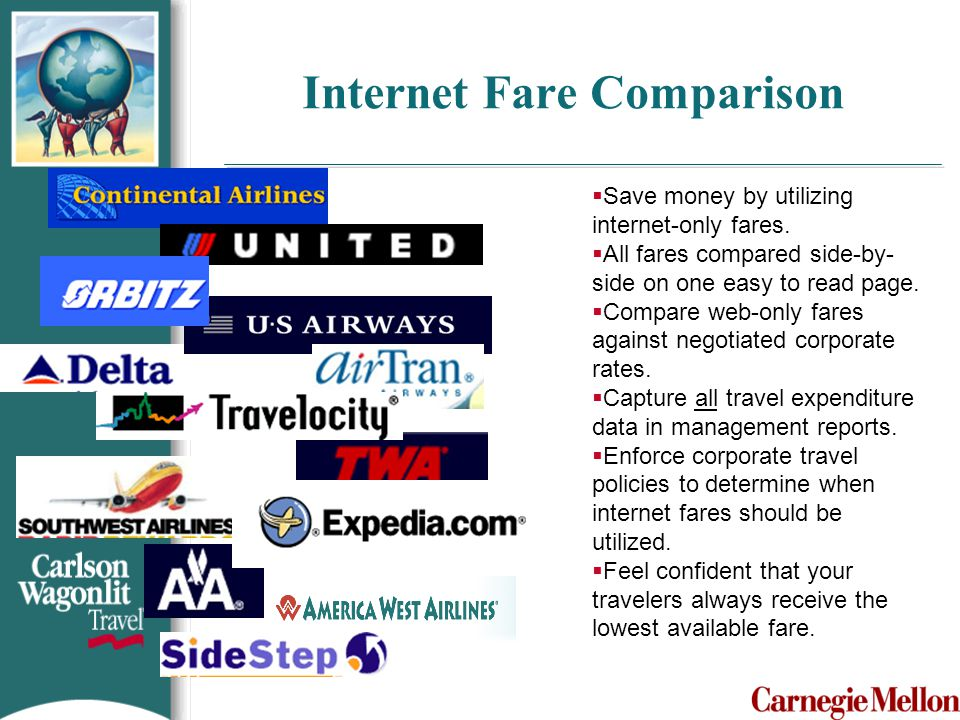 Internet Fare Comparison