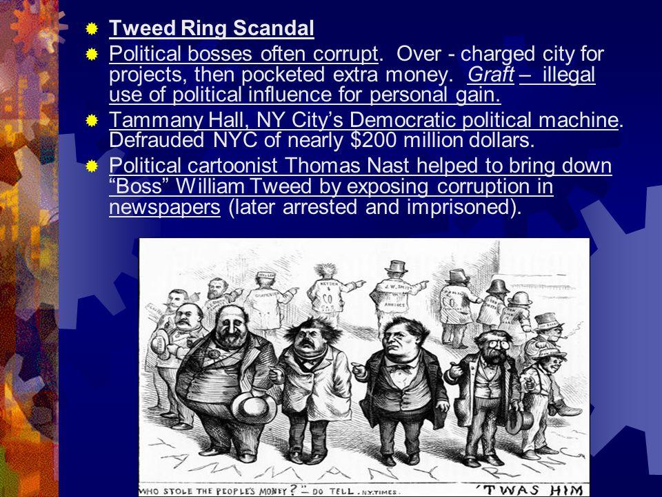 Tweed Ring Scandal
