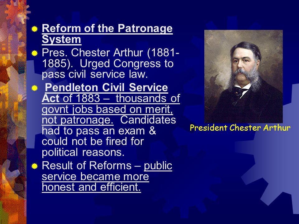 President Chester Arthur