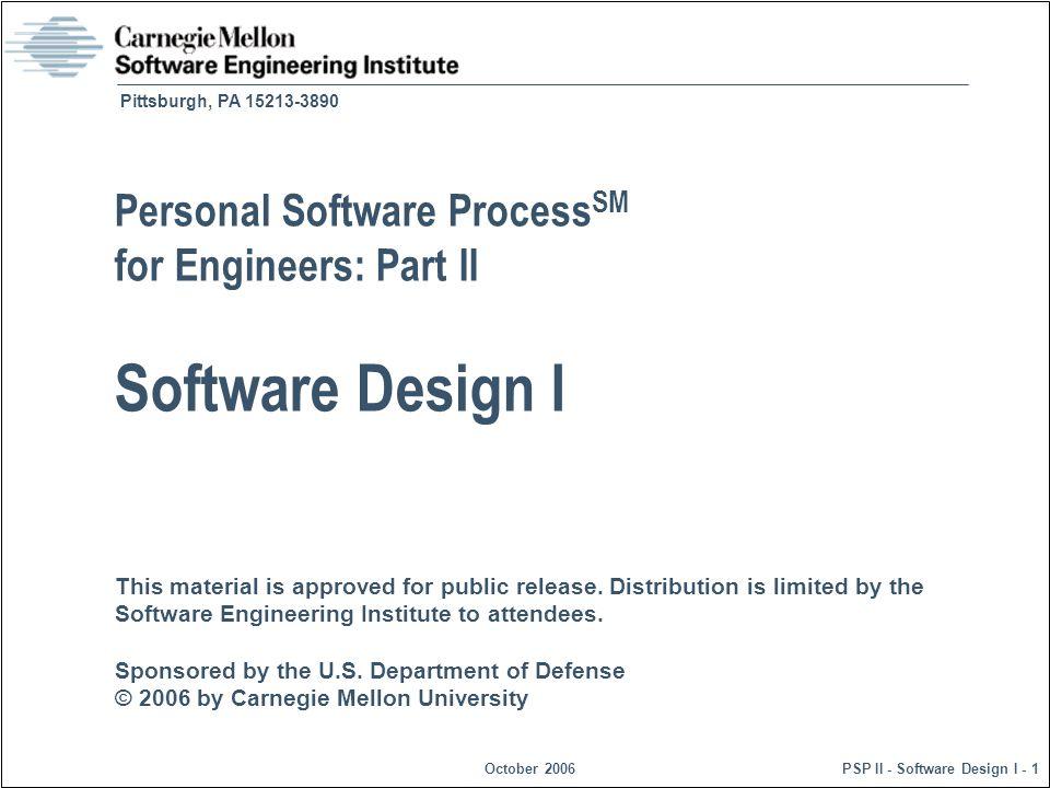Personal Software ProcessSM