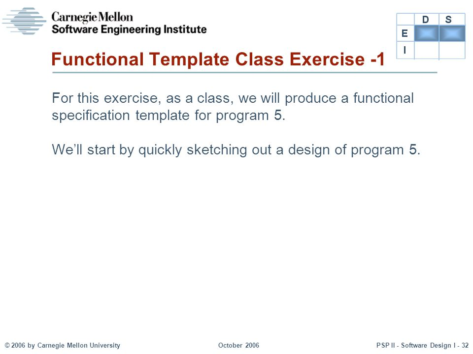 Functional Template Class Exercise -1