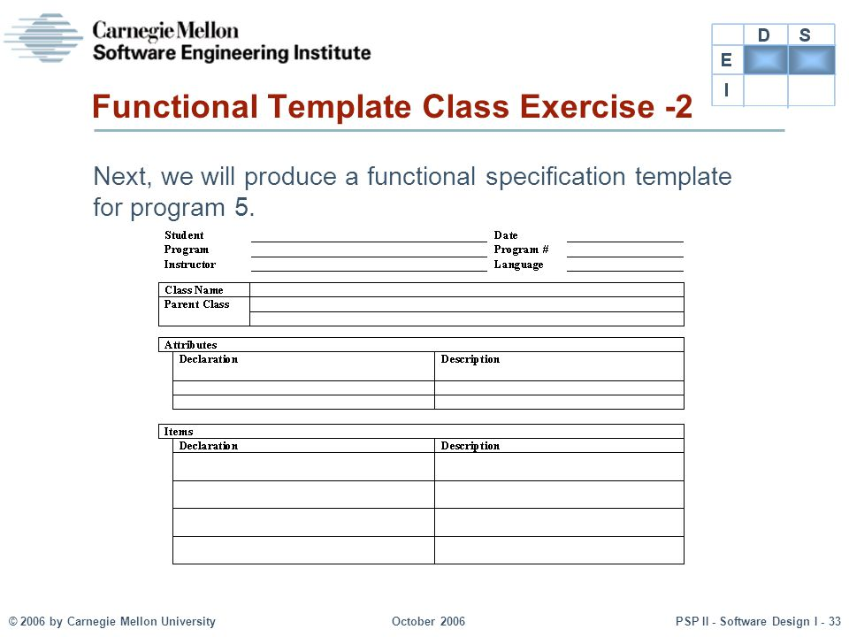 Functional Template Class Exercise -2