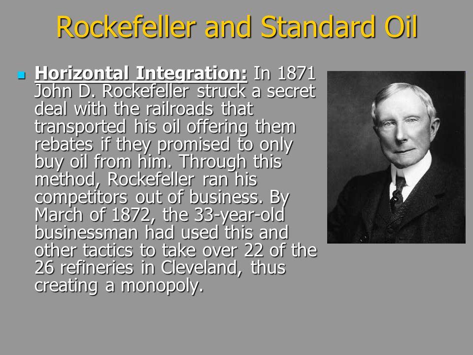 Rockefeller and Standard Oil