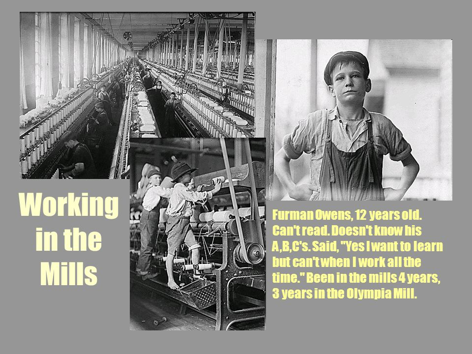 Working in the Mills