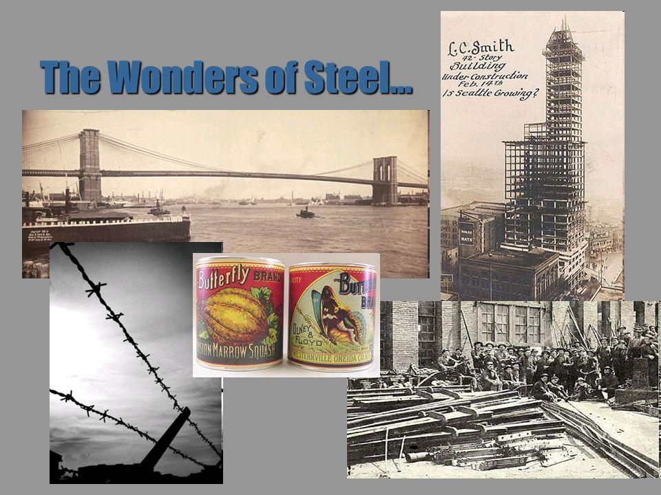 The Wonders of Steel…