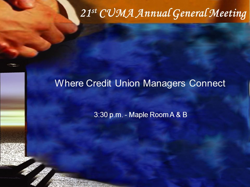 21st CUMA Annual General Meeting