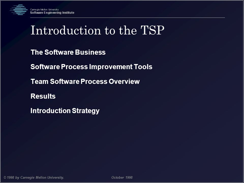 Introduction to the TSP