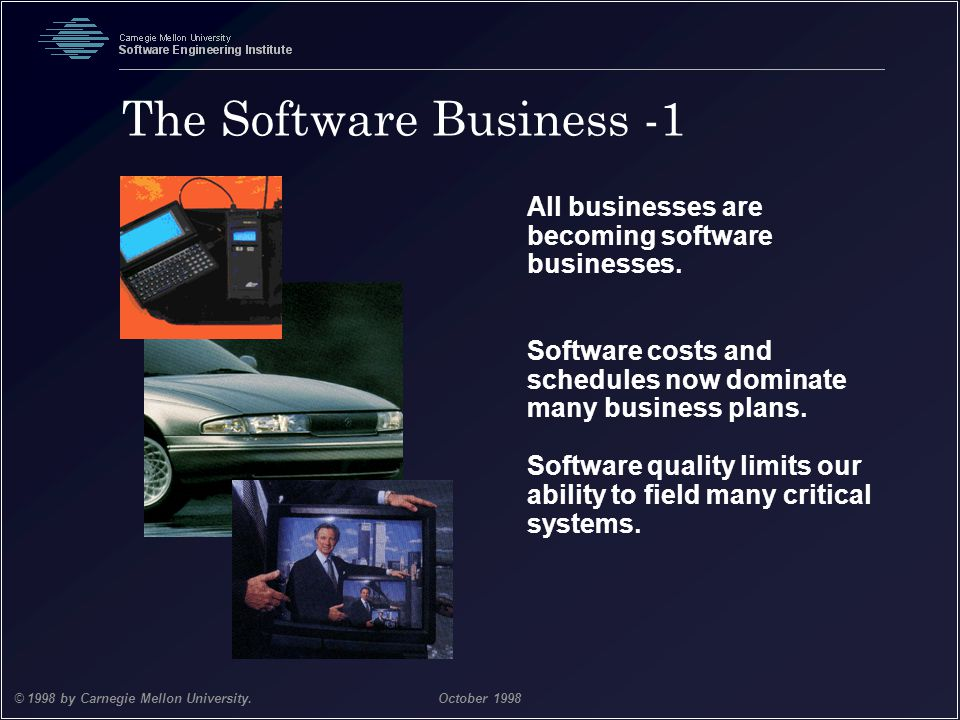 The Software Business -1