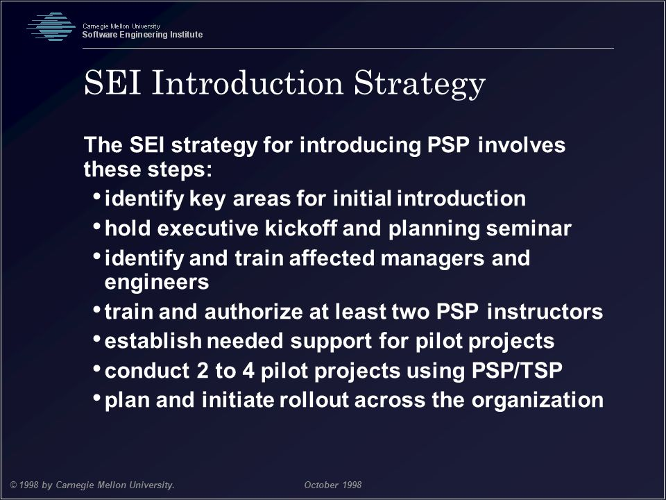 SEI Introduction Strategy