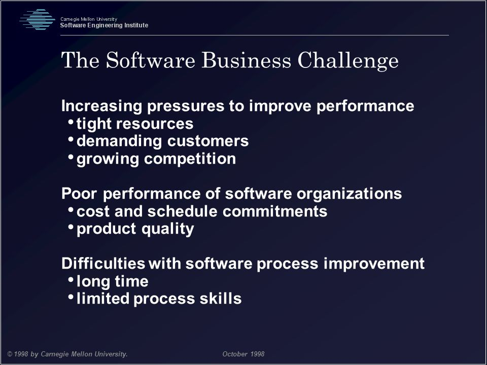 The Software Business Challenge