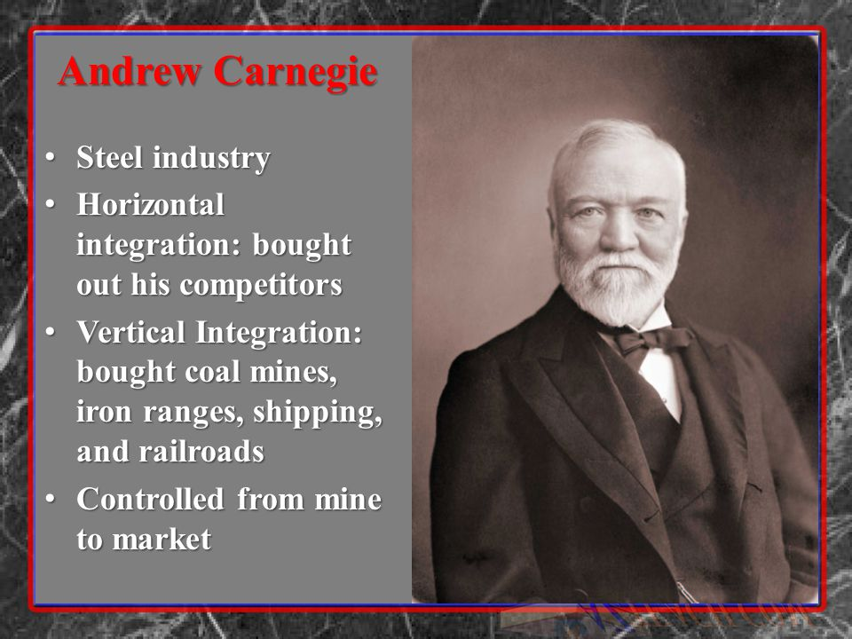 Q2 Notes Packet Unit 9 Western Frontier Unit 10 Andrew Carnegie