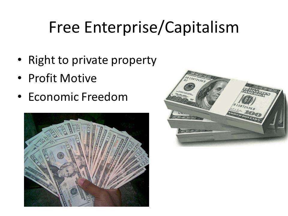 Free Enterprise/Capitalism