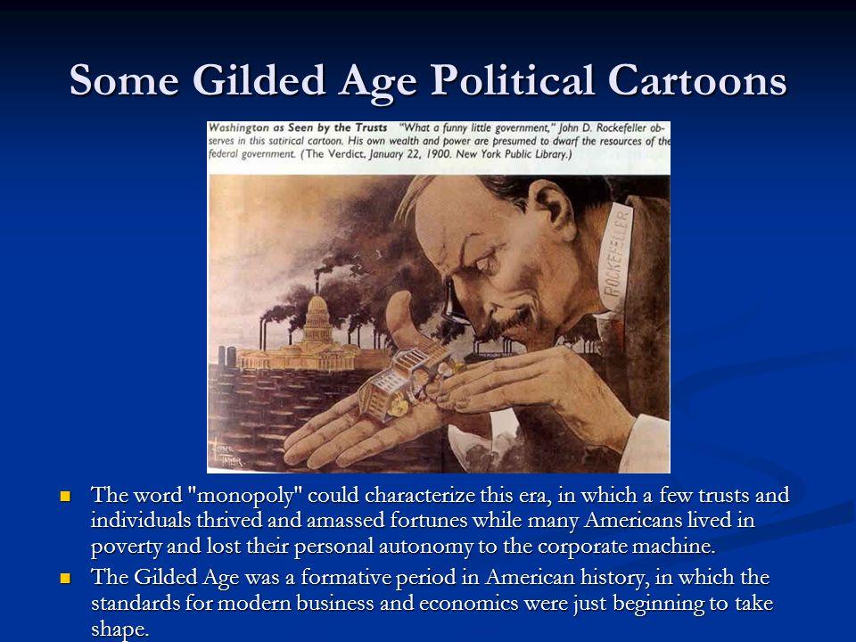 Some Gilded Age Political Cartoons