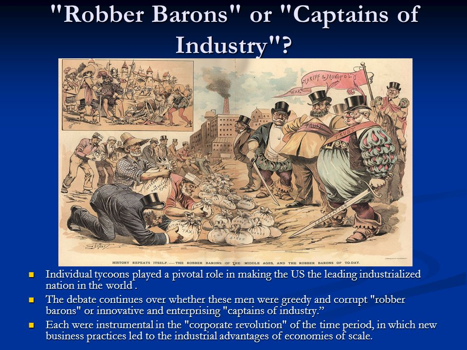 Business Labor And Technology In The Gilded Age Ppt