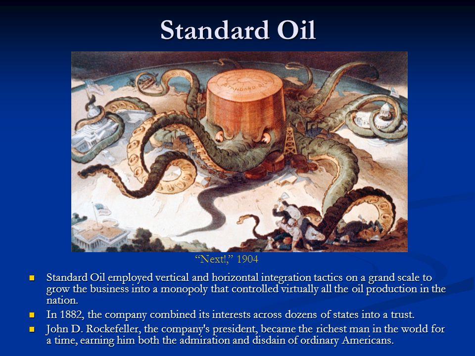 Standard Oil Next!, 1904.