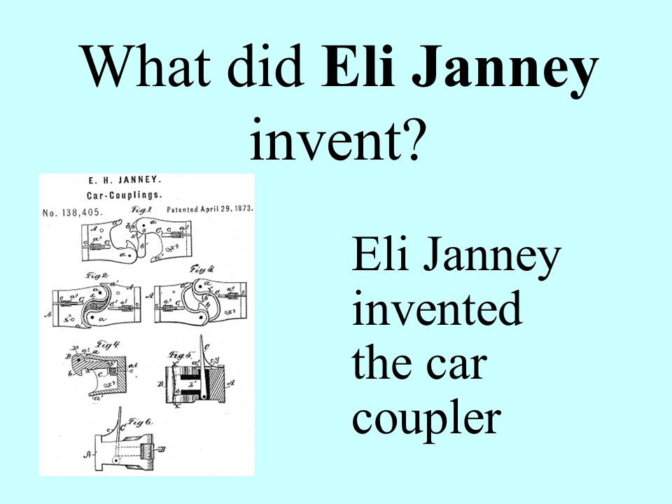 What did Eli Janney invent