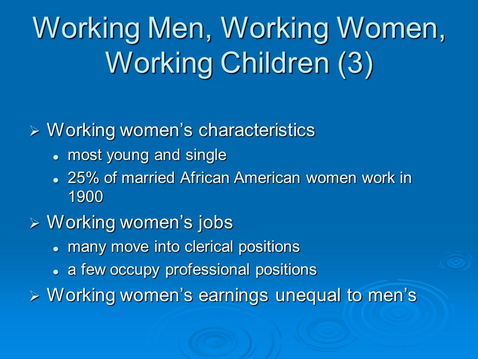 Working Men, Working Women, Working Children (3)