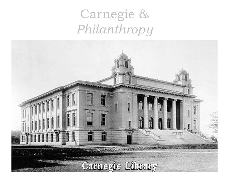 Carnegie & Philanthropy